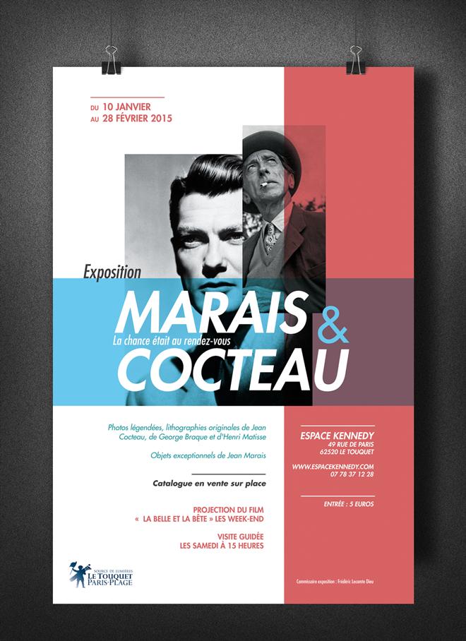 affiche exposition marais cocteau