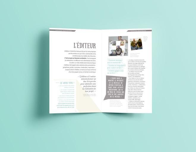 Brochure parcours découverte / pages éditeur