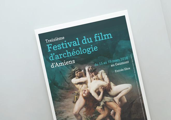 Festival du film d'archéologie affiche